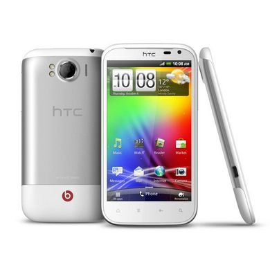 HTC Sensation XL (White), Qualcomm MSM 8255T, 1500 МГц, 16 ГБ, 768 Мб, 800x480