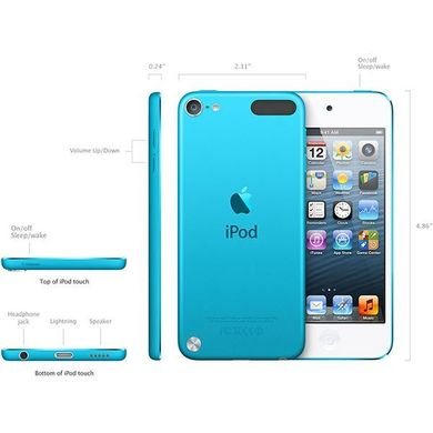 Apple iPod touch 5 64Gb (Blue)