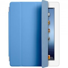 Чехол Apple Smart Cover для iPad 2/3/4 (Полиуретан) Синий