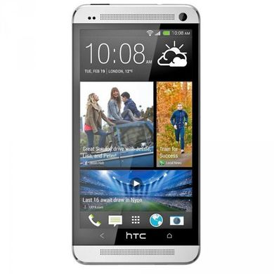 HTC One M7 802w Dual SIM (Glacier White)