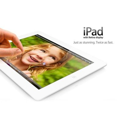Apple iPad 4 32Gb Wi-Fi + Cellular (White)
