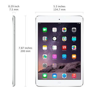 Apple iPad mini 2 with Retina display Wi-Fi + LTE 64GB Silver (MF089, ME832)