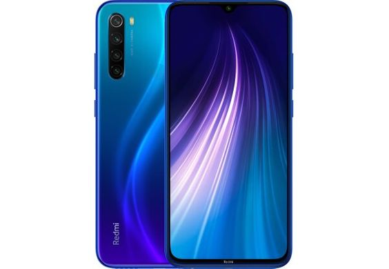 Xiaomi Redmi Note 8 4/128GB Blue (Global Version)