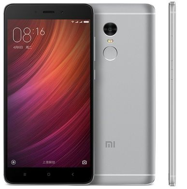 Xiaomi Redmi Note 4 4/64GB Gray (Snapdragon) *ЕВРОПА*