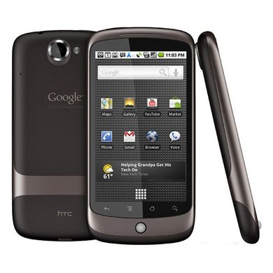 HTC Google Nexus One, Qualcomm QSD8250, 1000 МГц, 512 Мб, 512 Мб, 800x480