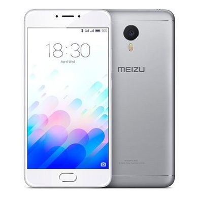 Meizu M3 Note 16GB (Silver-White)