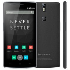 OnePlus One 16GB (Sandstone Black), Чорний, 16 ГБ, Qualcomm Snapdragon 801, 2500 МГц, 16 ГБ, 3 Гб, 1920x1080