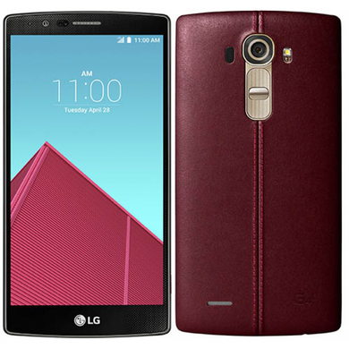 LG H815 G4 (Genuine Leather Red)